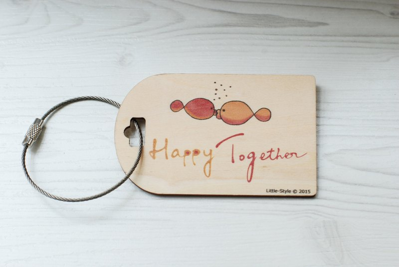 [Luggage tag] HappyTogether