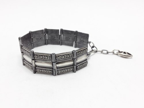 Where Aires quater · · antique silver sterling silver bracelets | Phyllis