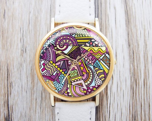 Dynamic illustration - Fashion Watch leather strap ︱ ︱ ︱ men and popular pieces to wear with the best holiday gift