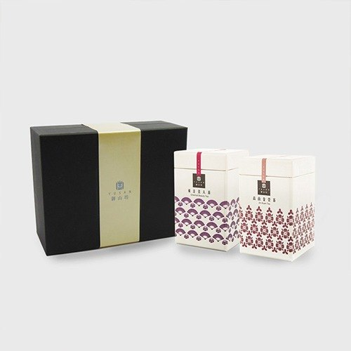 [Square] Royal Mount Royal gift boxes - Oriental Beauty VS carefully selected high mountain tea Jin Xuan (2 in / box)
