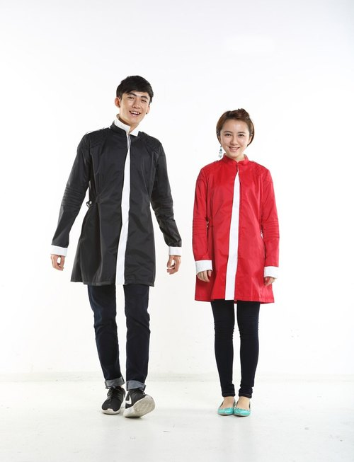 DiiiD Future Soldier and long sections raincoat boys and girls raincoat Mostly non-ordinary spring and autumn lovers
