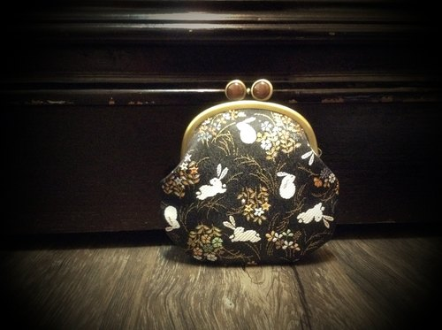 Gold bar flower rabbit eye frog mouth gold package
