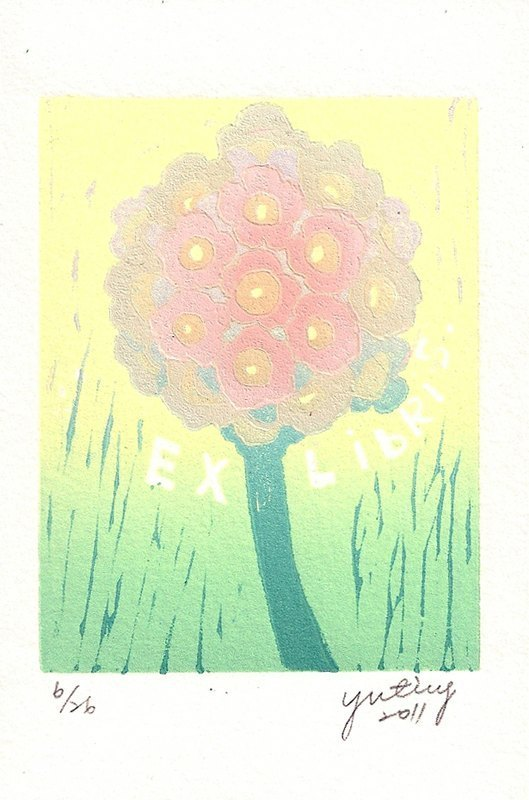 Prints bookplate - Hoya - Su Yuting