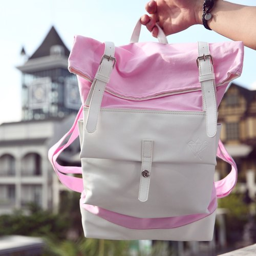 Gla ce 'brand PINK Backpack