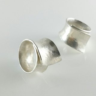 Forged Knife Collection Forging collection Silver Ring FGR003 Taiwan Designer Handmade Silverware