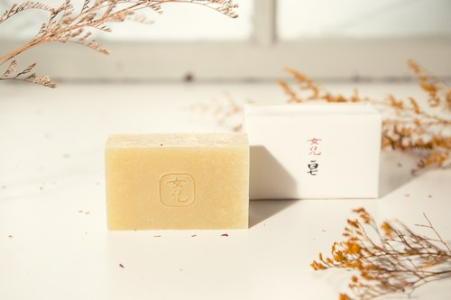 Daughter alfalfa soap l soothe the skin, and dry skin