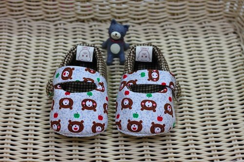 Apple Bear toddler shoes