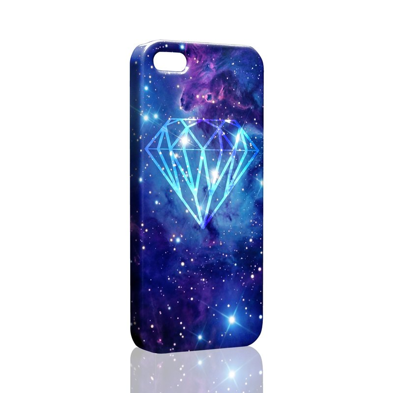 Rock Diamond (blinking blue) Custom Samsung S5 S6 S7 note4 note5 iPhone 5 5s 6 6s 6 plus 7 7 plus ASUS HTC m9 Sony LG g4 g5 v10 phone shell mobile phone sets phone shell phonecase