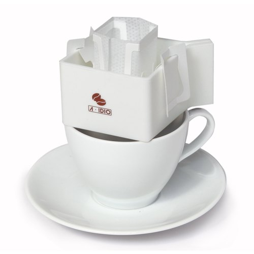 A-IDIO coffee dedicated rack mounting ears - White