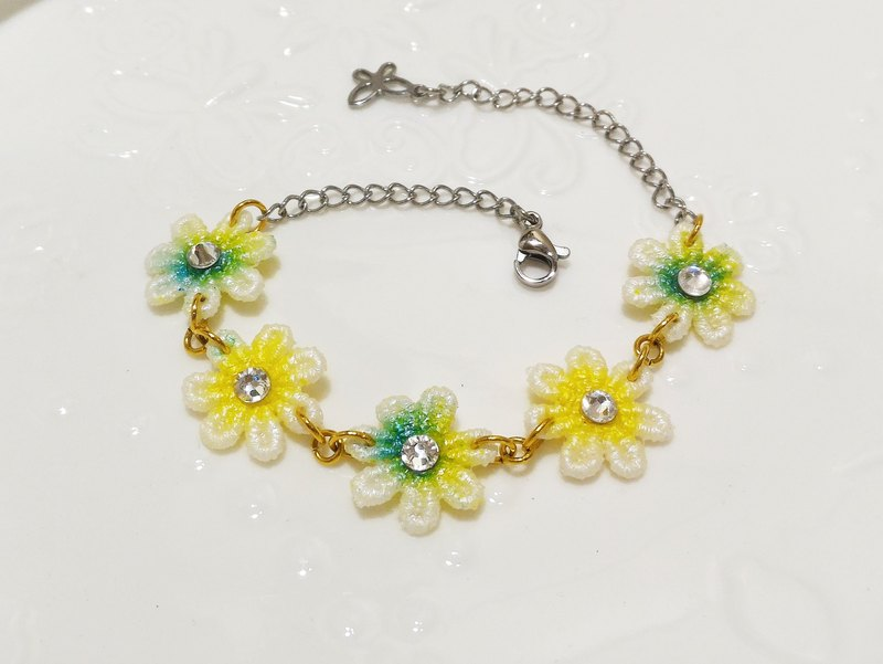 Blossom Shuiyu lace bracelet handmade limited edition custom water