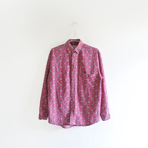 │Slowly│ amoeba lying Ti - vintage retro shirt │vintage Art Institute of wind street whims.....