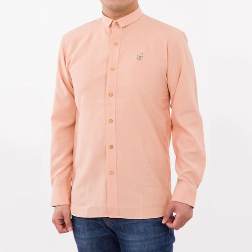 Men shirt: Straight-Small collar