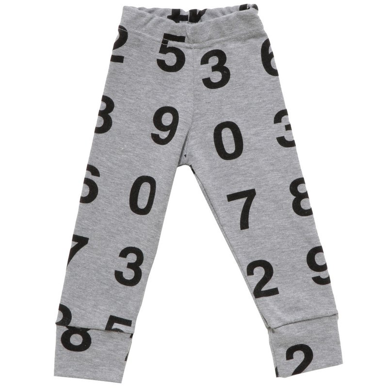 2014 Spring nununu digital legging / number legging