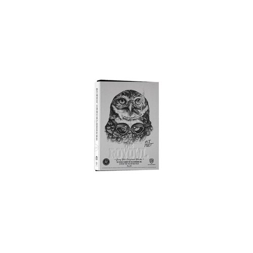 Nine mountain X Geng Wei THE ROYOWL owl series of limited edition 16 mo ​​white cover (ace)