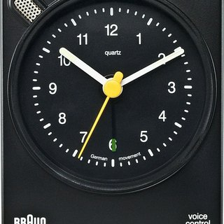 BRAUN BNC004 Voice Alarm Clock (black) square