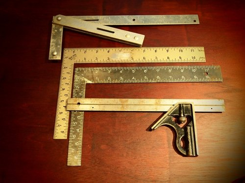 vintage 60-70 American system carpentry ruler measuring engineering