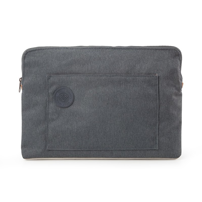 GOLLA Northern Europe and Finland stylish minimalist Pouch Original SLIM SLEEVE STONE-G1697 gray