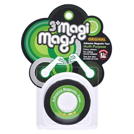 3+ MagiMags Magnetic Tape    19mm x 5M Classic.Green
