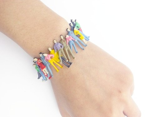 【Lost And Find】Playful little people bracelet