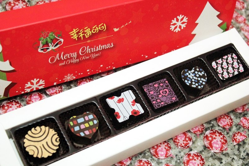 Fancy chocolate into the Christmas 6