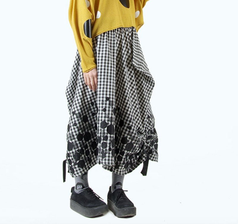 Little fall long skirt - imakokoni