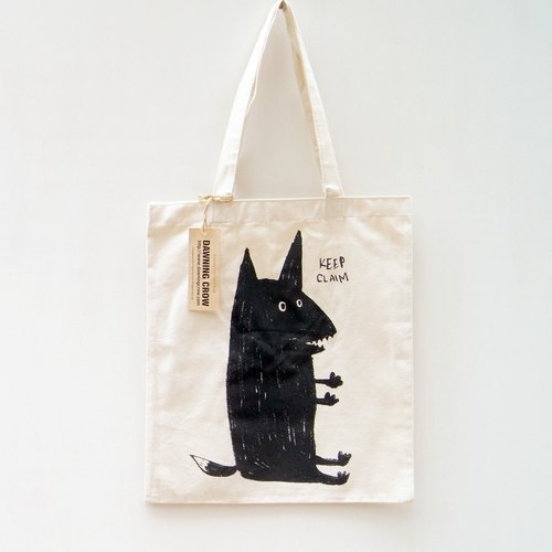 Burned Fox Tote Bag