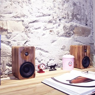 MINFORT | MIN16 handmade solid wood active Bluetooth stereo