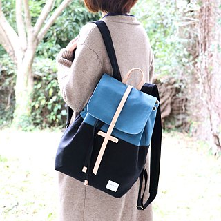 Two-color backpack
