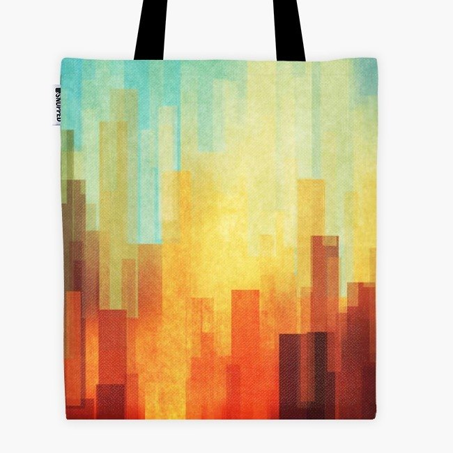 Filament - canvas bag - Urban Sunset