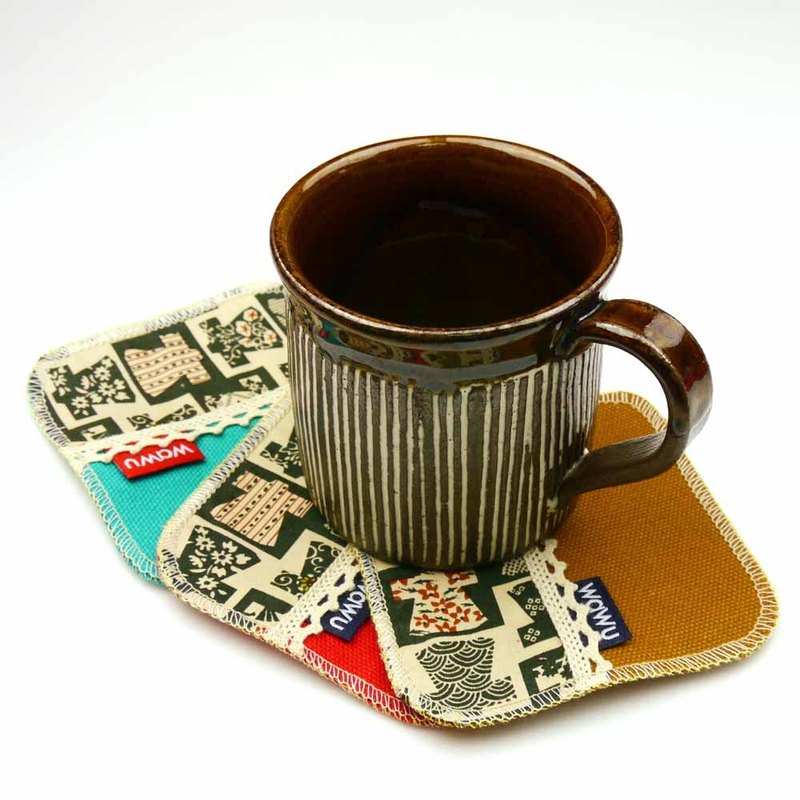 WaWu New Coaster (5 pieces/set)