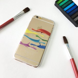 Splash Color Print Soft / Hard Case for iPhone X,  iPhone 8,  iPhone 8 Plus, Phone 7,  iPhone 7 Plus iPhone 6/6s,  iPhone 6/6s Plus,