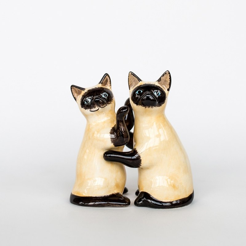 OOPSY Life - Siamese cat Pepper & amp; salt shaker set - RJB