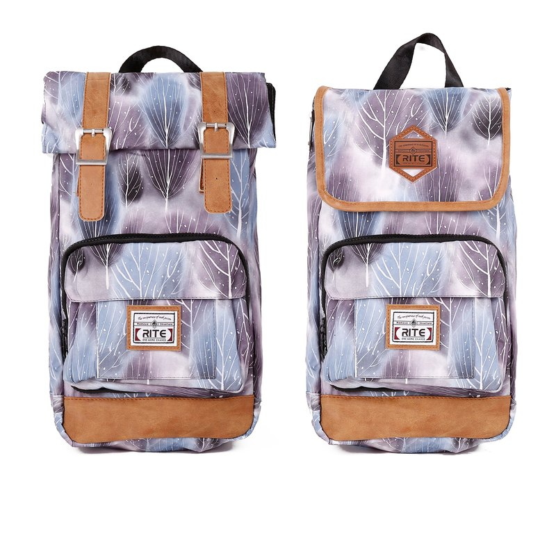 RITE twin package ║ vintage bag flight bag x 2.0 (M) - Grove White ║