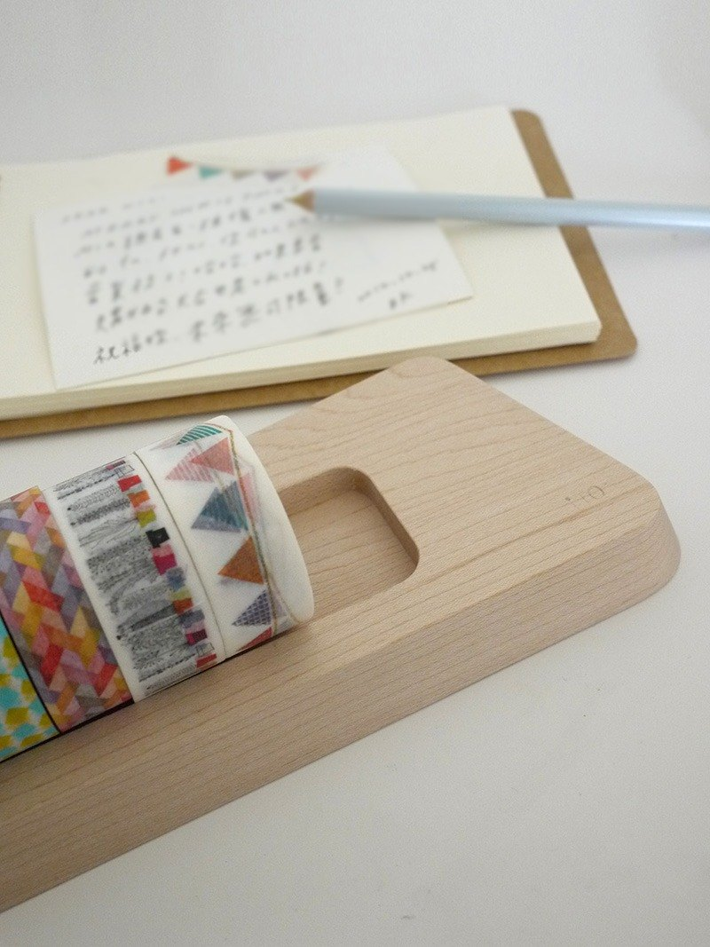 [Valentine's Day Gift] Lito étape / Small Stage Wooden Paper Tape Storage (Good Gift 1+1)
