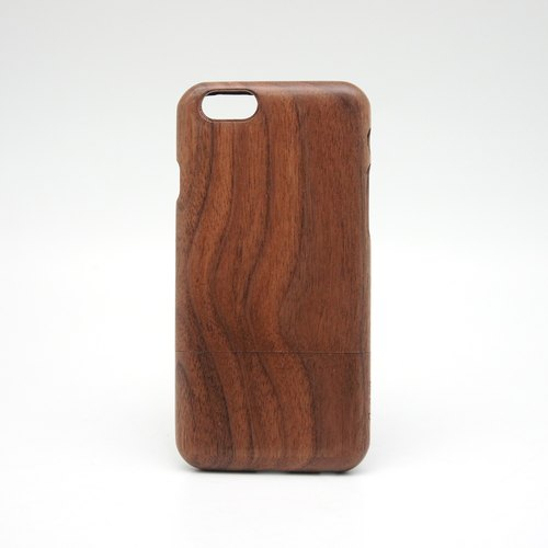 BLR iPhone6/6Plus wood case [ Walnut ]