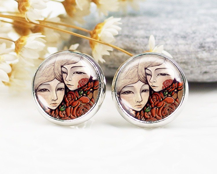 Friend - clip earrings earrings ear ︱ ︱ ︱ little face modified fashion accessories birthday gift