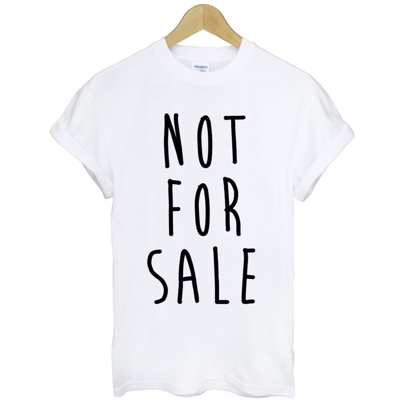 NOT FOR SALE T-shirt -2 color not for sale green paper art design fashion fashionable word