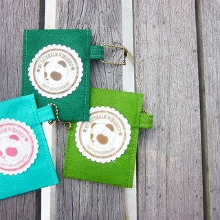 My Daydream Workshop flannel sets bus card sets ID card holder bank card sets