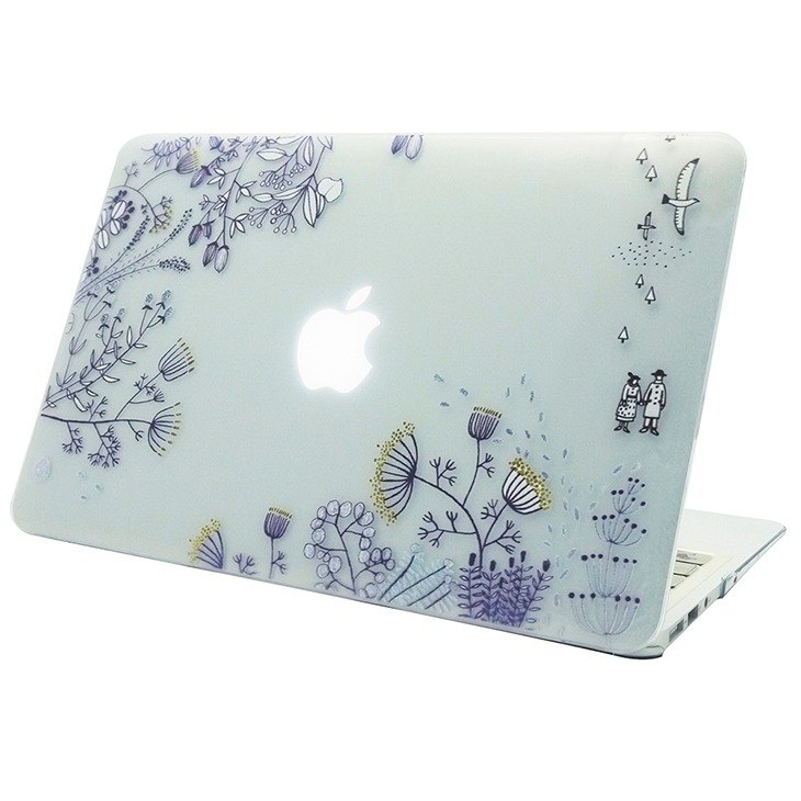 Hand-painted love series - leave / transparent - Su Lika Zulica-MacbookPro / Air13 吋, AB08