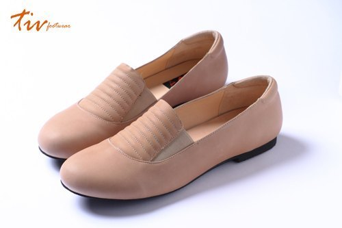 Meter retro deep-mouthed shoes