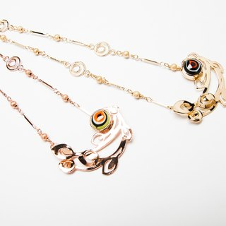 【TIWS】Guardians of the Light - Peacock - indigenous handmade glass bead necklace