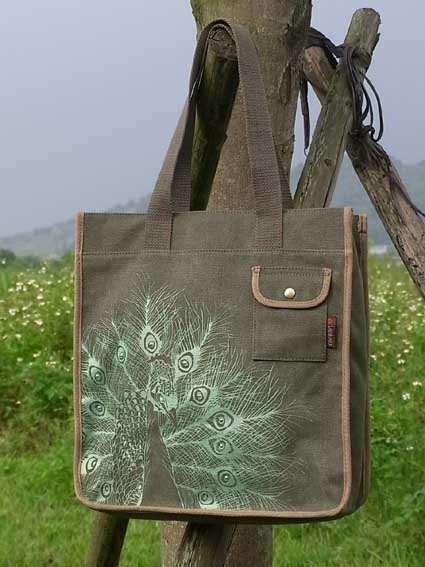 Animal Bag (2): The Peacock