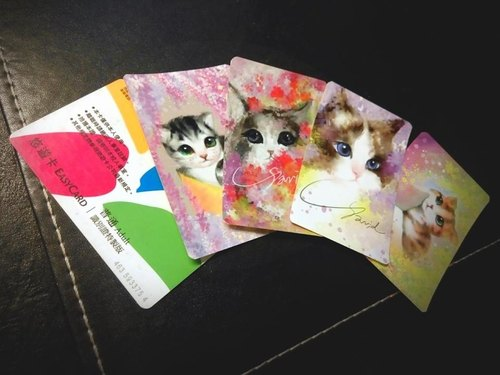 David painted cat _ <florid tetralogy> Limited _ swimming Kaka stickers