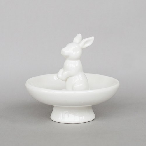 OOPSY Life - rabbit jewelry stand disk - RJB