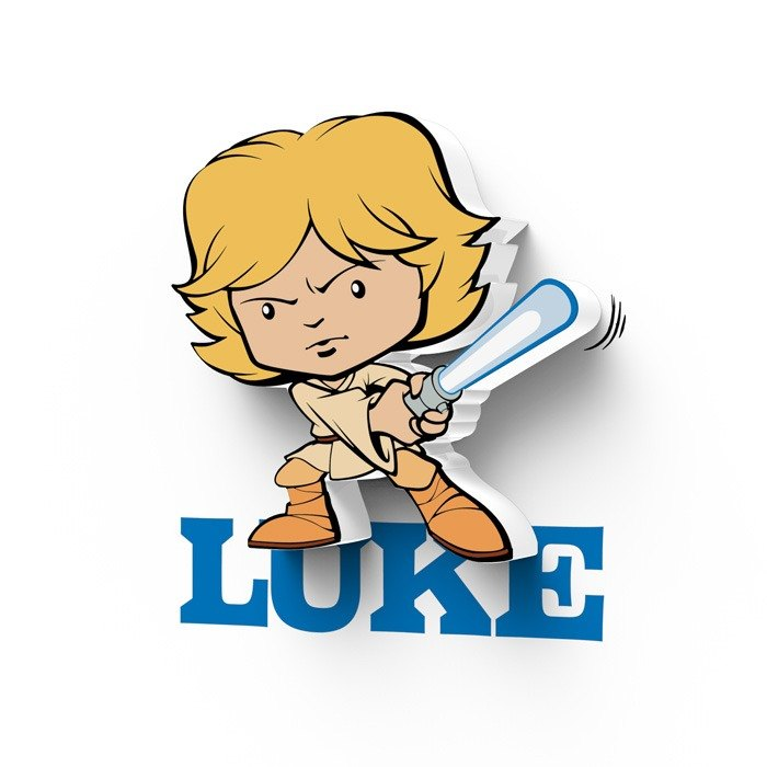 3D Light FX - Star Wars EP7 Mini Series Luke