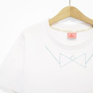 * White tie lane Tee - only the number M
