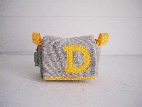 hairmo. Simple activities exclusive letter buckle camera bag -11 ocean yellow dot + gray (monocular / class monocular / DC)
