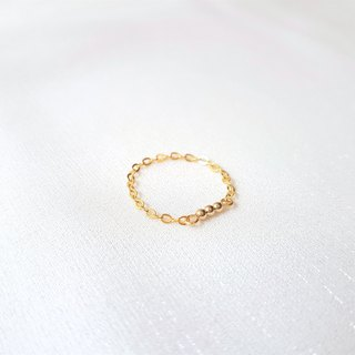 Wish Seed ‧ Brass Chain Ring