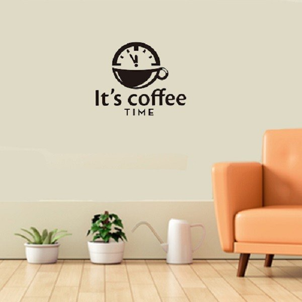 """Smart Design"" Creative Seamless wall stickers ◆ coffee time"