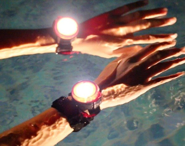 [MOGICS] Moqi off lights outdoor sports wristband Lamps Group